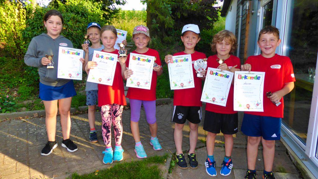 Kinder-Vereinsmeisterschaften 2019